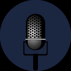 entertainment-microphone-dark blue